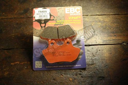 EBC Brake Pads, front, Semi Sinter, BT 00-07, XL 00-0302-05 V-Rod