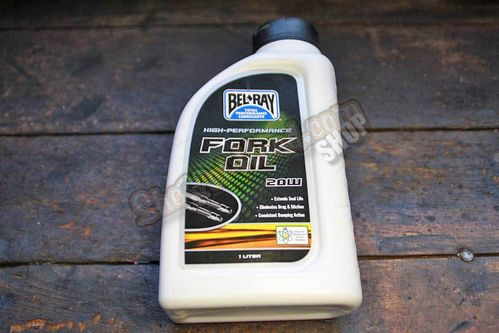 Bel-Ray Fork Oil, 20W, 1 Liter