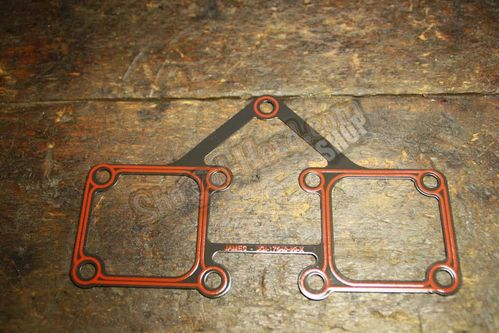 Shovel Rockerbox Gasket, BT 66-84, Steel / Silicon