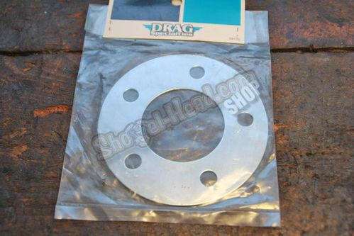 Brake Disc Spacer, zinc plated, all models 73-99