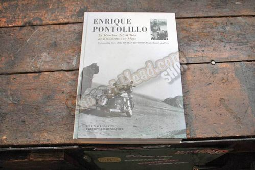 "Book: Enrique Pontolillo, ""The man with 1 Million Kilometers on Motorcycles"""