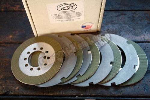 BDL Kevlar Clutch Kit, Steel & Friction Discs, BT 41-84