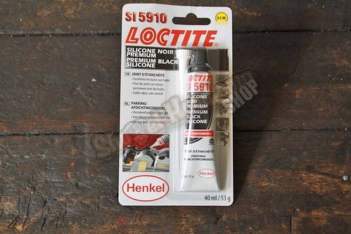 Loctite 5910 Premium Silicone, black, up to 200°C