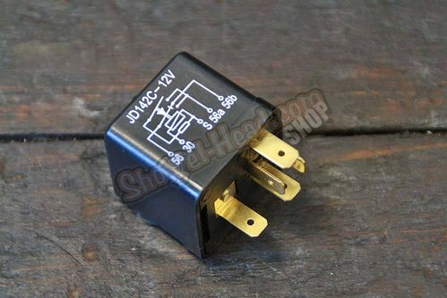 Headlamp Relay, High / Low for Pushbutton Control