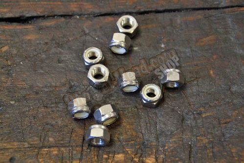 "5/16""-24 Locknut, Stainless. UNF"