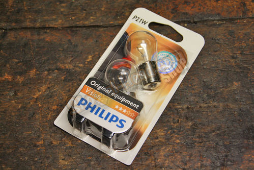 Philips Bulb, 21W (Turn Signals), Pair