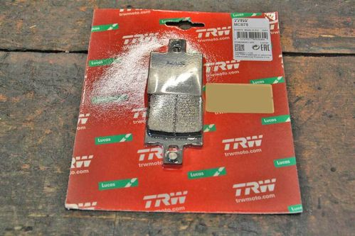 TRW / Lucas Brakepads for SSC Pulley Brake / Harrision Billet Calipers