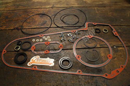 Primary Gasket Kit, FL / FLH / FX 65-86, Softail© 85-88, Paper / Silicone