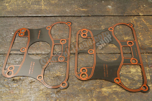 EVO Gaskets Rockerarm Panel to Cylinder Head, Pair, BT 84-99, Sportster©, Buell©