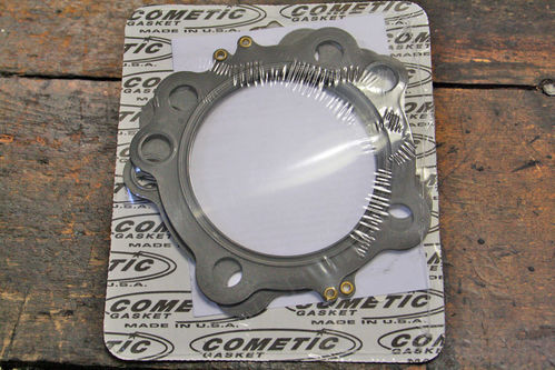 "EVO Cylinder Head Gaskets, Pair, Cometic, MLS, 0.40"", Standard Bore"