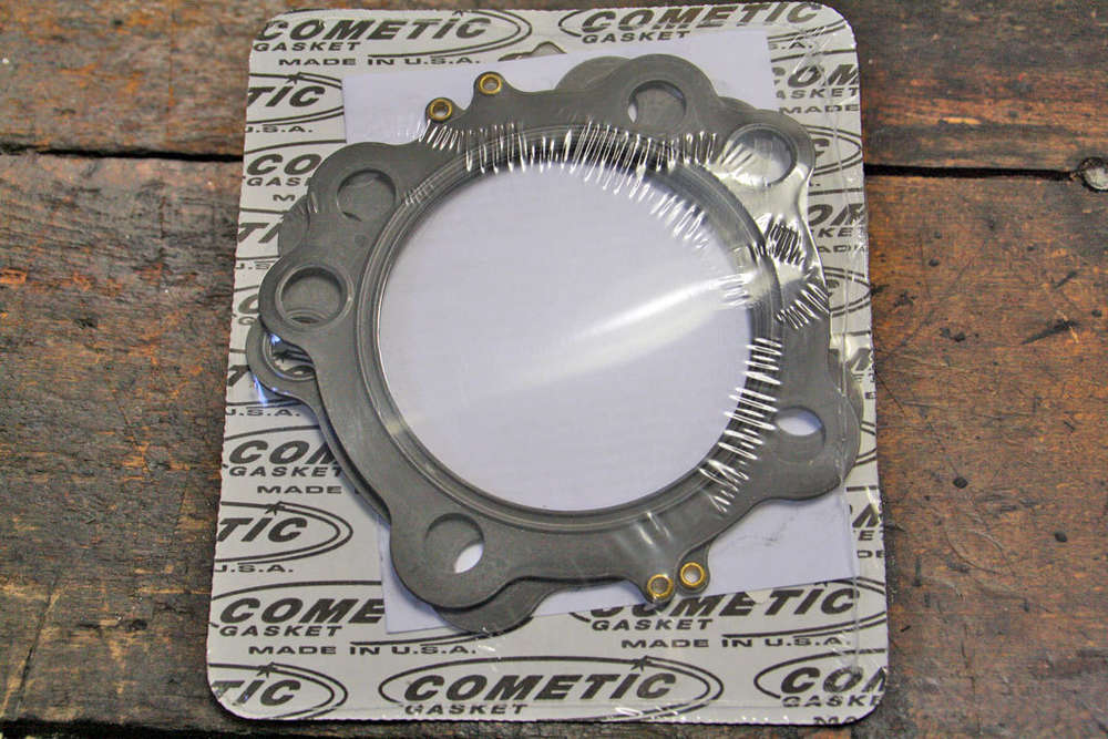 EVO Cylinder Head Gaskets, Pair, Cometic, MLS, 0 40