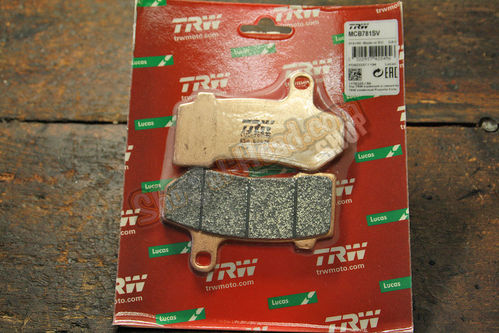 Brakepads Touring 2008up, V-Rod 2006up, front