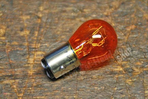 Light Bulb, Dual Fil., amber, 12V 21/5 Watts
