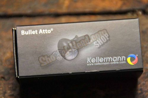 Kellermann Bullet Atto, LED Turnsignals, black