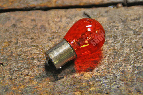 Lightbulb, Turn Signal, Single Fil., Amber, 12V/32cp