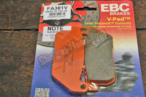 EBC Brakepads, Sportster© 2004 - 2013, all models