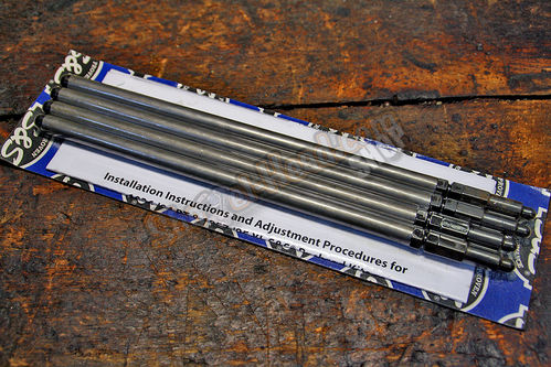 S&S Pushrod Set, Steel, Shovelhead 66-84