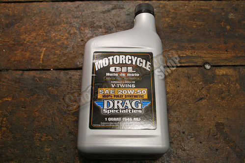 Drag Specialties Voll Synthetic Engine Oil, 20w50 (0,946 L)