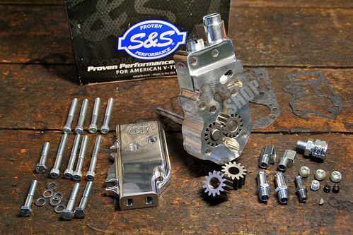 S&S Billet Oil Pump Kit, Big Twin 70-91