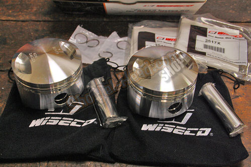 Wiseco Forged Piston Set, 7:1, Low Compression, 1340ccm Shovel 79-84