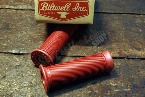 "Biltwell Inc. Kung Fu Grips for 1"" bars, Oxblood"