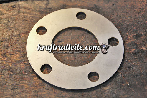 Shim for Brake Rotors / Pulleys, 2mm, Center Bore: 50,4mm