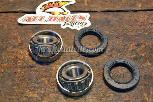 "Wheel Bearing Set, 19mm I.D., for FXD, FX, FXR / XL 73-99, 0.30"" Seal"