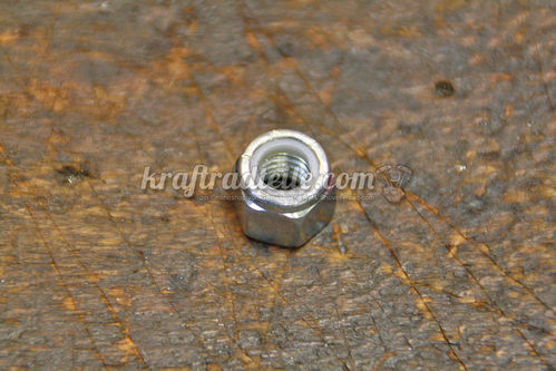 "3/8""-16 Locknut, zink plated"