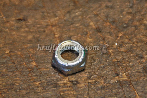 "1/2""-20 Jam Lock Nut, Shock Mount Nut"