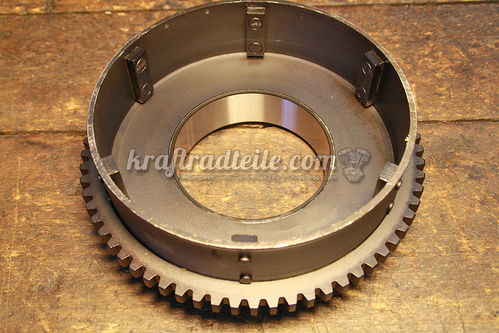 Clutch Shell with Starter Ring Gear, Shovel BT 65-e84
