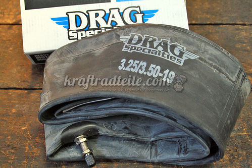 "19"" x 3.25-3.50 inner Tube, Metal Valve center"