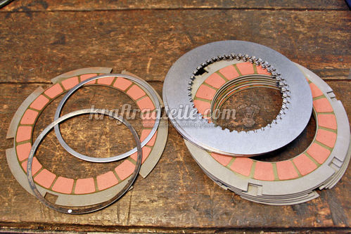 Barnett Scorpion Replacement Clutch Plate Set, BT 36-84