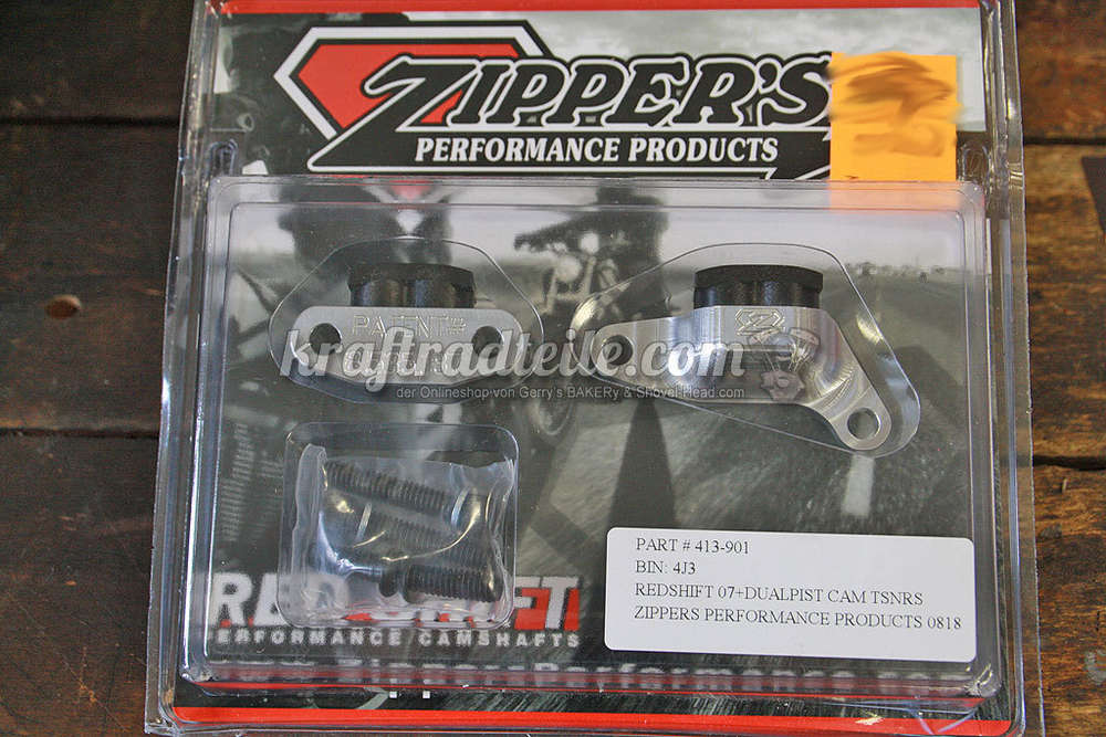 Zippers Red Shift Dual Piston Cam Chain Tensioners Kit, TwinCam© 99-2017