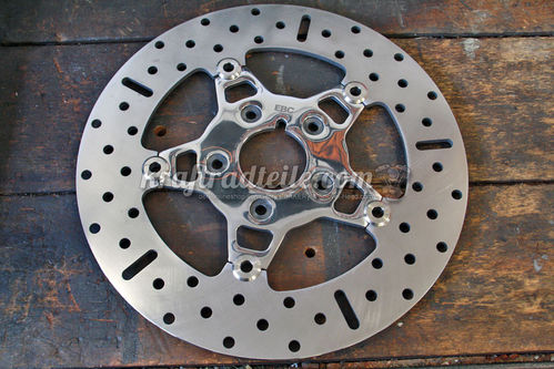 "EBC Stainless Rotor, Floating, 11.5"", most H-D© Models up to 1999"