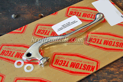 Kustom Tech Replacement Lever, Classic, Master Cylinder Clutch / Brake, polished
