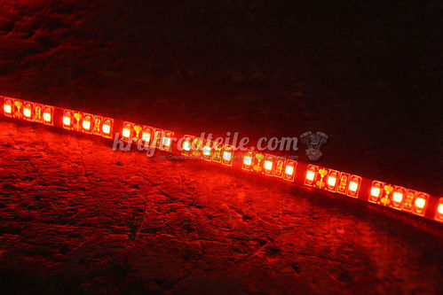 LED Light Stripe, self adhesive backing, Red, 1 Meter