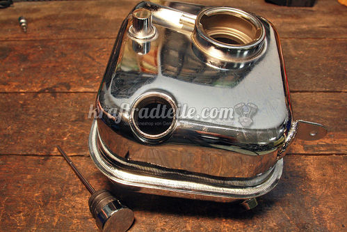 Oiltank, chrome, FX / FL 65 - early 82