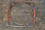 EVO Cylinder Base Gasket, front / rear, 84-99, Steel / Silicon, .020""