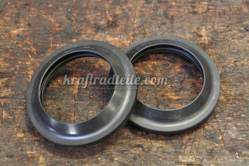 Dust Seals Front Fork, 41mm, Softail©  01-07 FXSTD/I / 07-10 FXSTC