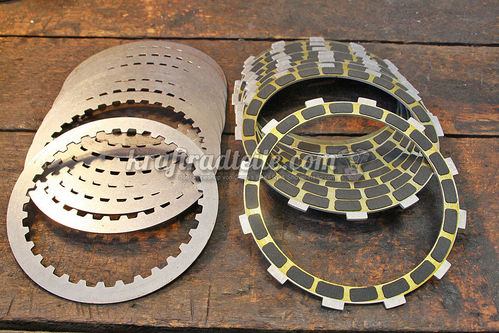 Barnett Clutch Plate Kit, Friction & Steel Plates, Carbon, BT 98-17