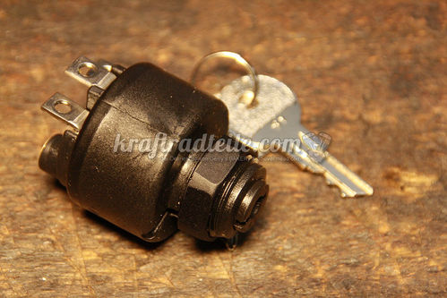 Ignition Switch, waterproof, Plastic, round