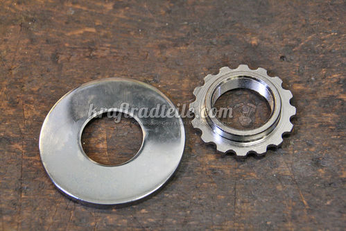 Bearing Jam Nut with Dust Cover, BT 49-2008