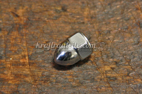 "3/8""-16 Acron Nut, chromed"