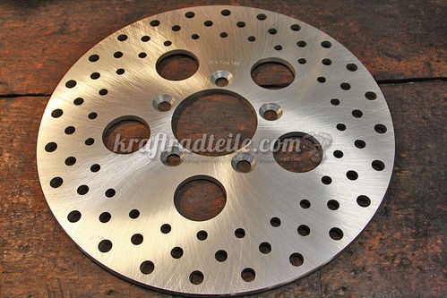 "Brake Rotor 10"", drilled, Front, 78-83 XL / 77-83 FX, FXR, 60mm ID"