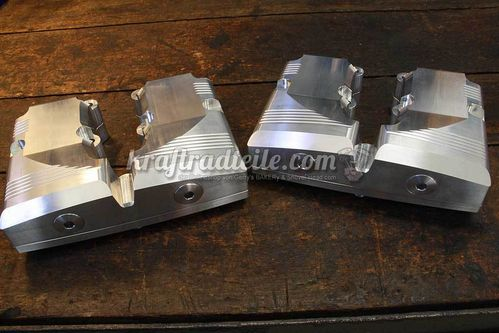 Speed & Science Shovelhead Rocker Boxes, Billet Aluminum