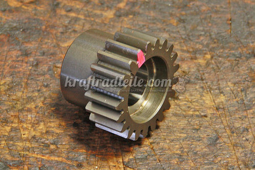 S&S Pinion Gear, Red, BT late 77 - 89