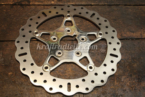 EBC 11.5 Brake Rotor, Contour, Floating, Stainless, H-D© Modells up to '99