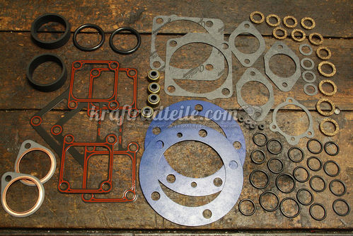 Top End Gasket Kit, Shovel 66-84, James Gaskets