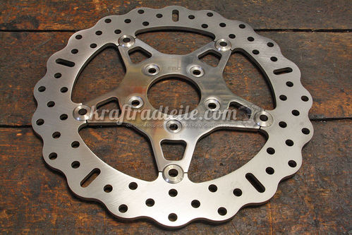 EBC 11.5 Brake Rotor, Contour, Floating, Stainless, H-D© Modells 2000 up
