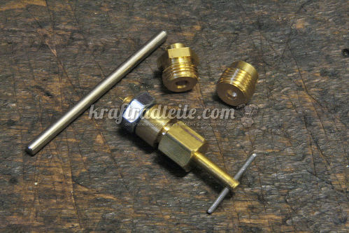 Adjustable Mainjet fpr Keihin Butterfly Carbs
